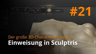 Blender 3D-Charakterworkshop | #21 - Einweisung in Sculptris