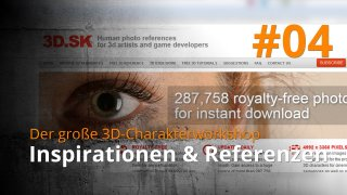 Blender 3D-Charakterworkshop | #04 - Inspirationen & Referenzen