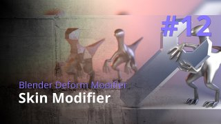 Blender Generate Modifier #12 - Skin Modifier