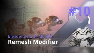 Blender Generate Modifier #10 - Remesh Modifier