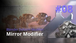 Blender Generate Modifier #08 - Mirror Modifier