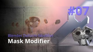 Blender Generate Modifier #07 - Mask Modifier