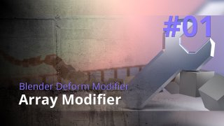Blender Generate Modifier #01 - Array Modifier