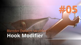 Blender Deform Modifier #05 - Hook Modifier