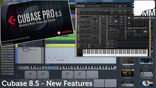 Cubase Pro 8.5 - Neue Features in Cubase
